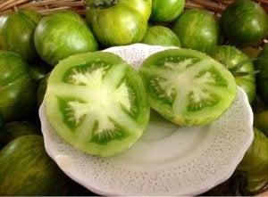 Zielony pomidor
