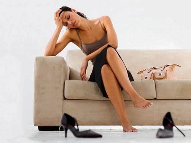 zmęczone kobieta