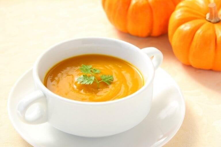 Zupa z dyni.