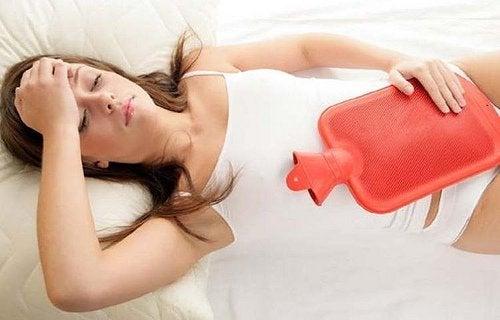 Bóle brzucha- menstruacja