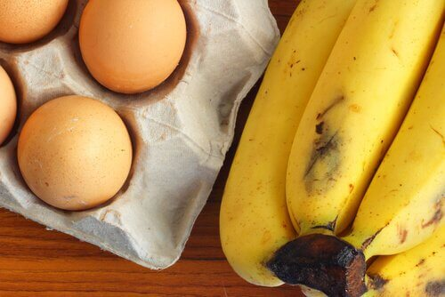 banany i jajka