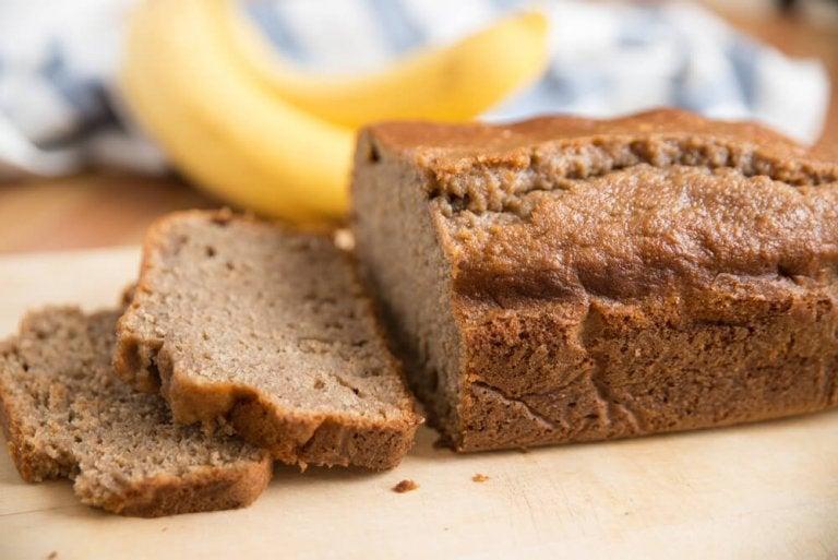Chleb bananowy - przepis fit na zdrowy i smaczny chleb