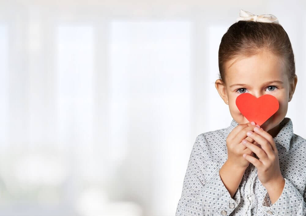 Dziewczynka z sercem