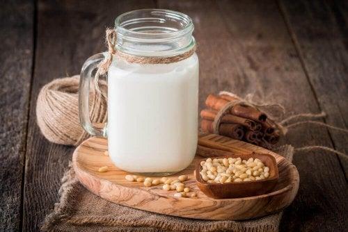 mleko z komosą