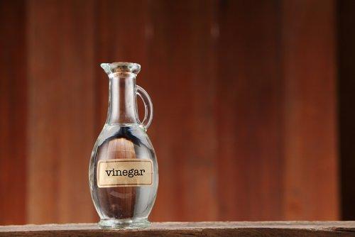 butelka z octem