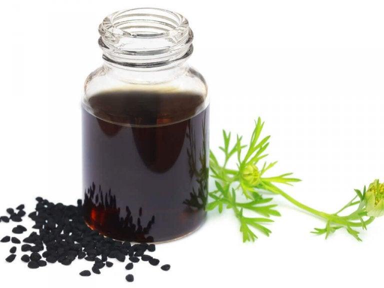 Czarnuszka pod postacią oleju