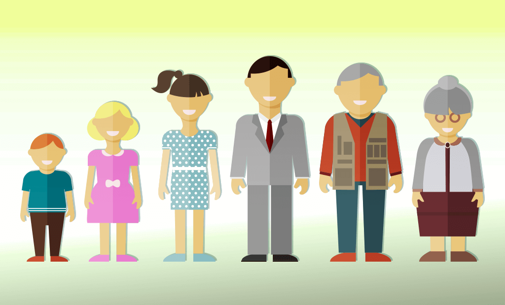Różne pokolenia - oczekiwana długość życia