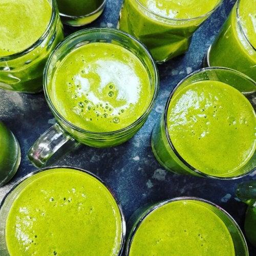smoothie zielone