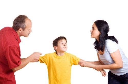 walka o dziecko