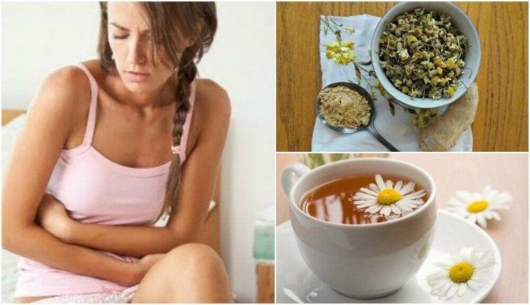 Zespół jelita drażliwego - wylecz herbatą imbirowo-rumiankową