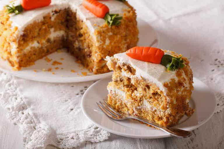 Ciasto marchewkowe – wegańskie, bez jajek i tłuszczu