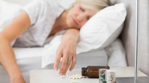 Głęboki sen wywołany przez leki nasenne