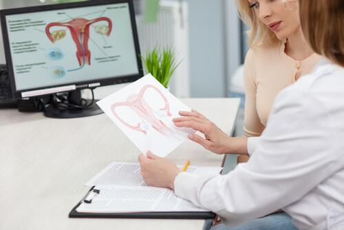 torbiel na jajniku kontrola u ginekologa kobieta