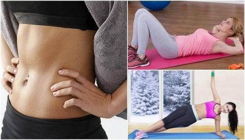 Mięśnie brzucha - 6 podstawowych ćwiczeń