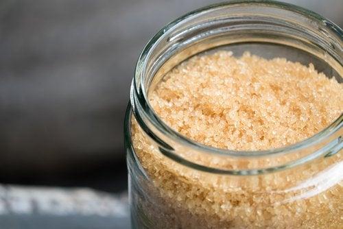 peeling na bazie ryżu na skórę