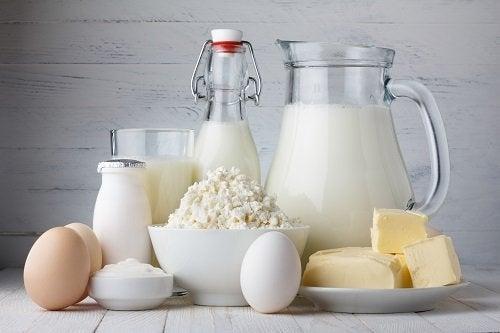 Produkty mleczne - nabiał