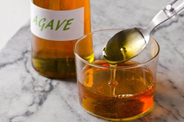 Syrop z agawy.