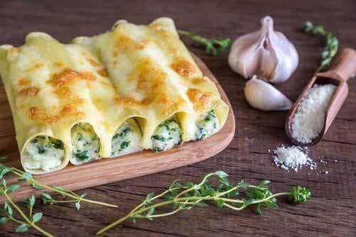 Warzywne cannelloni na trzy wyśmienite sposoby