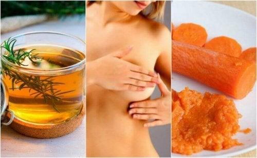 Zapalenie sutków - 6 naturalnych metod jełagodzących