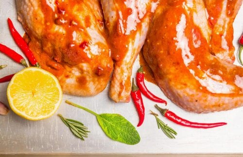 łatwa dieta kurczak i chili