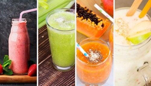 Koktajle na detoks – wypróbuj 4 zdrowe przepisy