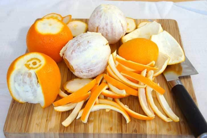 Obrane ze skórki pomarańcze