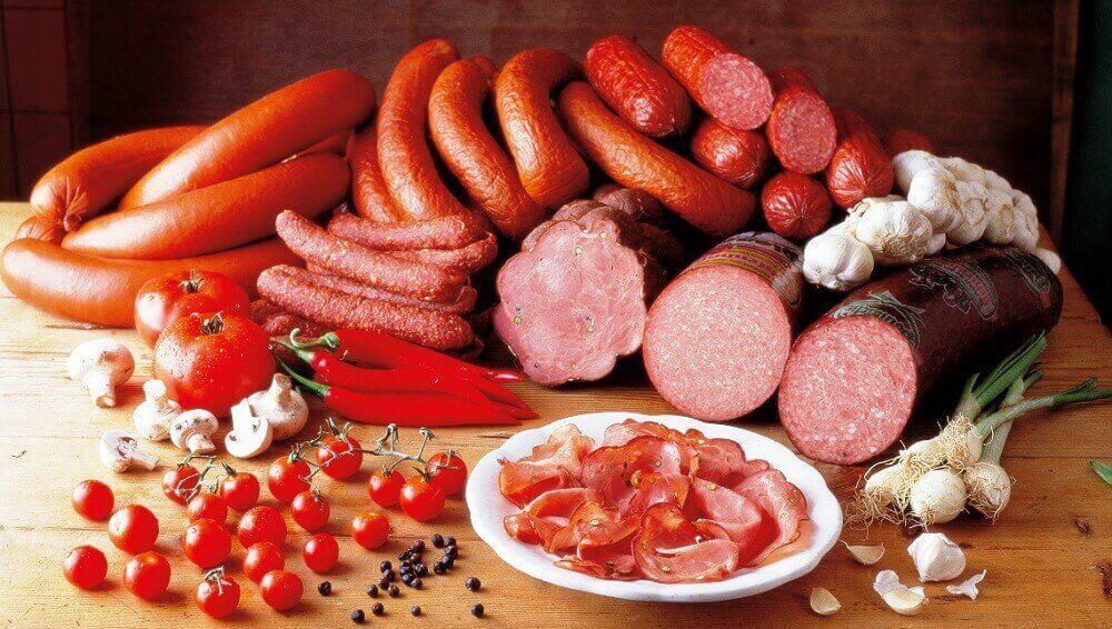 śniadanie - przetworzone produkty mięsne