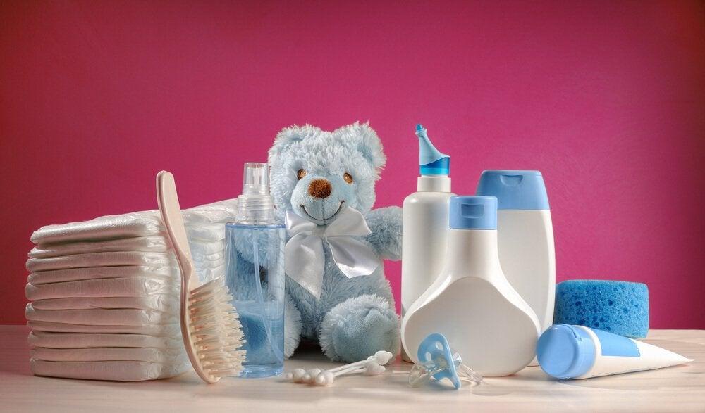 Przybory higieniczne dla dziecka