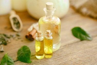 oleje na szczelinę odbytu