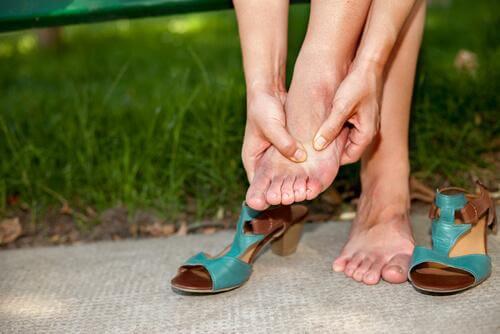 Obolałe stopy
