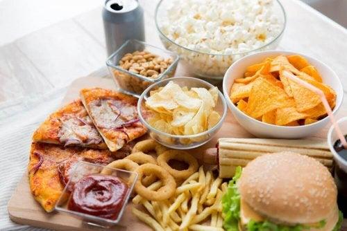 szkodliwe jedzenie fast food