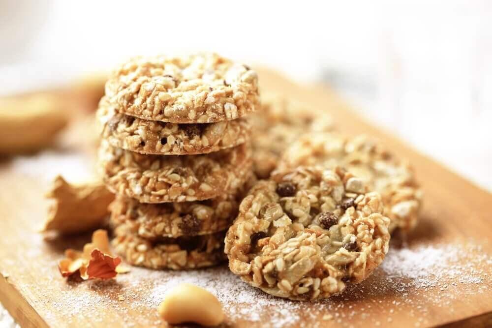 Ciasteczka owsiane na chwile słabości podczas diety