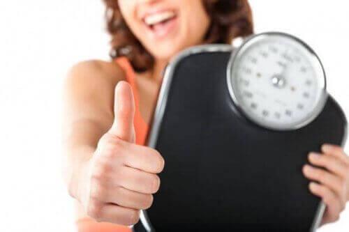 Oberżyna na spadek wagi