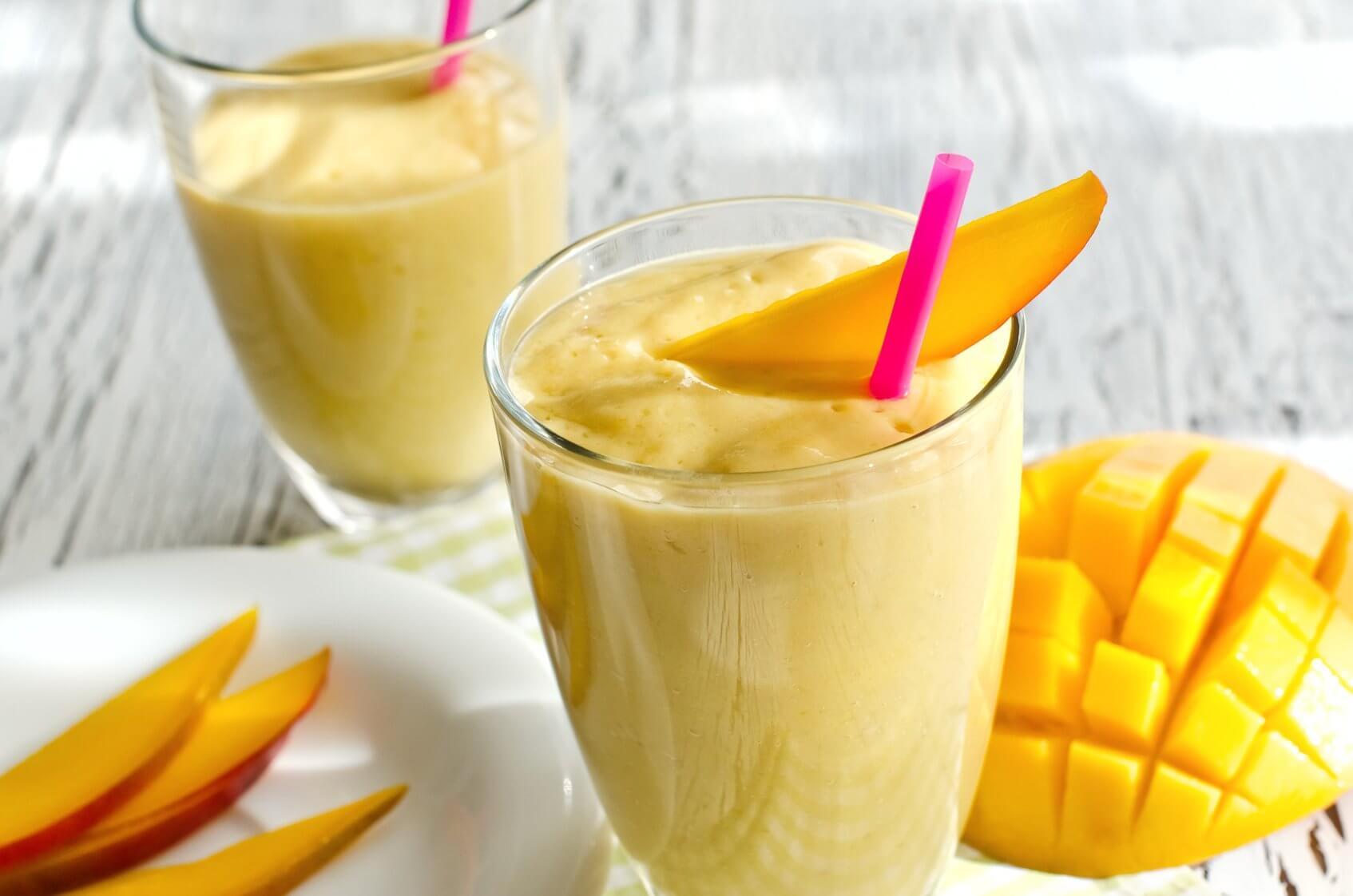 Koktajl z mango zwalcza zaparcia