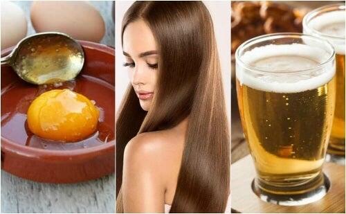 Maska z piwa i jajka: gładkie i zdrowe włosy