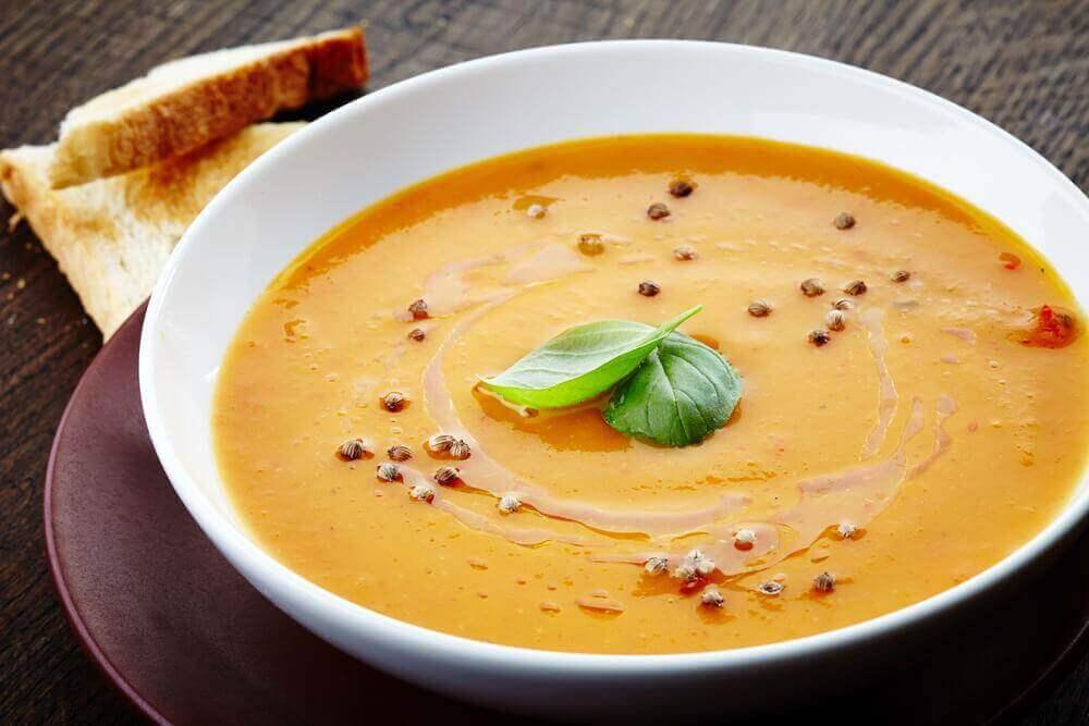 sposoby na bezsenność zupa krem