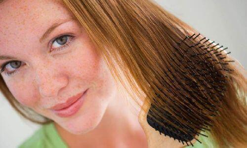 Rozpuszczone włosy