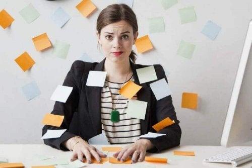 kobieta stres myśli