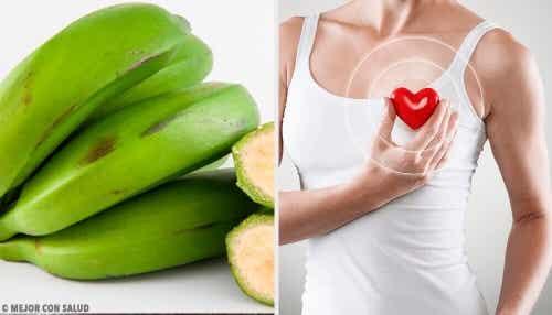 Zielone banany – 6 korzyści których nie znałaś!