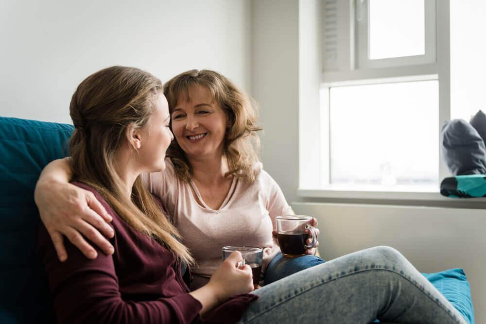 Matka i córka - rozmowa z nastolatkiem