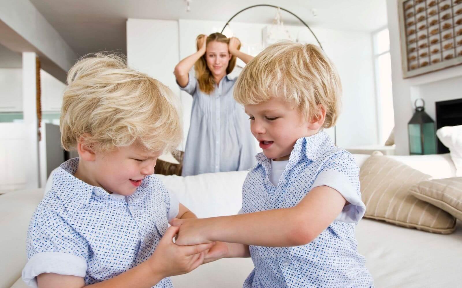 Bijące się dzieci