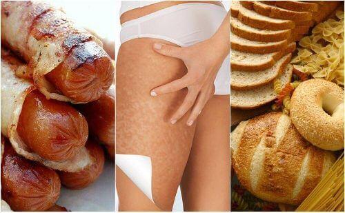Cellulit: 6 produktów, które go nasilają
