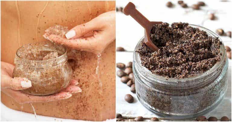 Domowy peeling – kawa i olej kokosowy na rozstępy