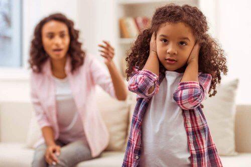 Często dzieci nie chcą słuchać.