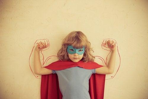 dziewczynka superbohaterka