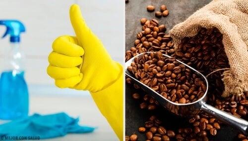 Ziarna kawy – 14 zastosowań w domu!