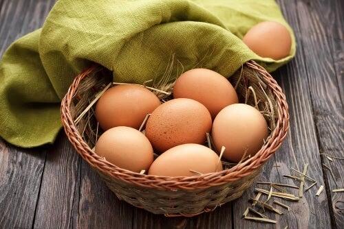 Jajka to jeden z najpopularniejszych rodzajów protein.