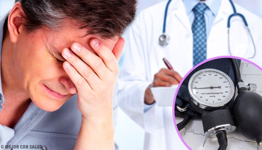 Mężczyzna otrzymuje złe wyniki u lekarza