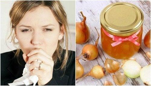 Kaszel - jak przyrządzić lekarstwo z miodu i cebuli aby go złagodzić?