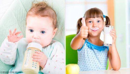 Mleko dla dzieci: jakie jest najzdrowsze?